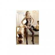 Bodystocking Catsuit Black M/L