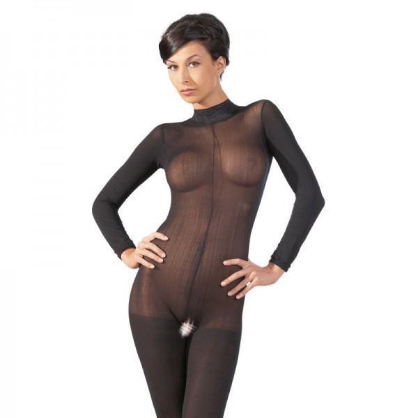 Bodystocking Catsuit Ouvert S/M