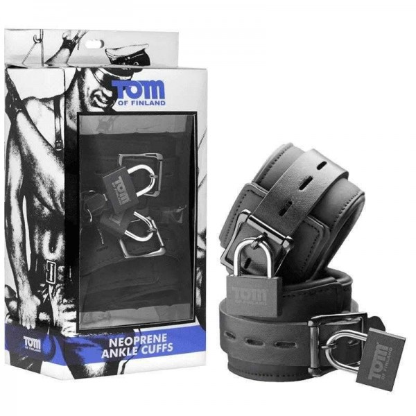 Catuse Tom Of Finland Neoprene Ankle Cuffs