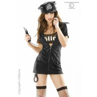 Costum Politista Sexy Police Party S/M