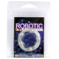Inel Robotic Ultra Fit Beaded Cockring