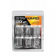 Set 6 Mansone Stay Hard Cock Sleeve Kit