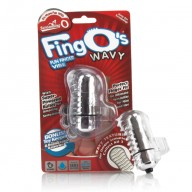 Vibrator Screaming O Fingo Wavy Clear